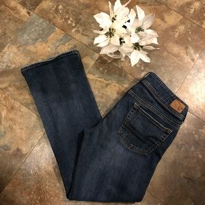 American Eagle AE Size 8 SHORT Stretch jeans